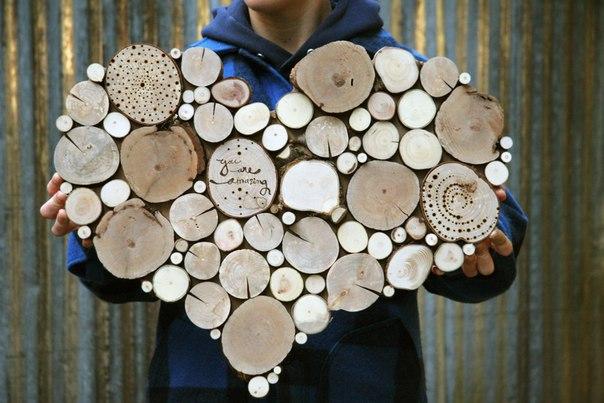 Деревянный арт