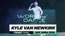 Kyle Van Newkirk | FrontRow | World of Dance Bay Area 2018 | WODBAY18 | Danceprojectfo