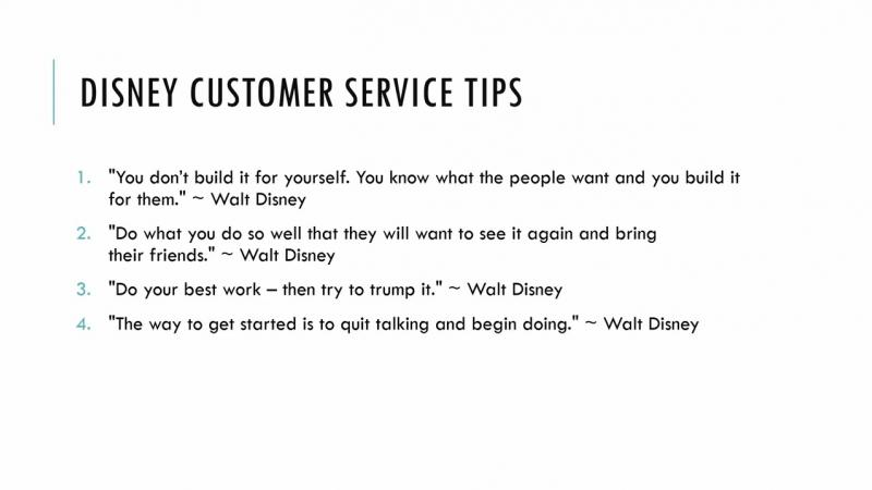 4.3 Скорая помощь обслуживания клиентов - Копируй Дисней