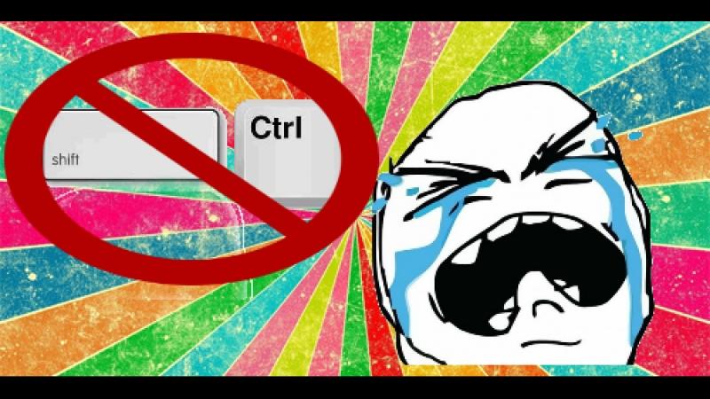 Что делать если не работают клавиши CTRL и SHIFT