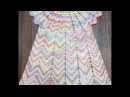 Летнее цветное платье 3 5 лет 2 часть Юбка Knit a beautiful dress hook