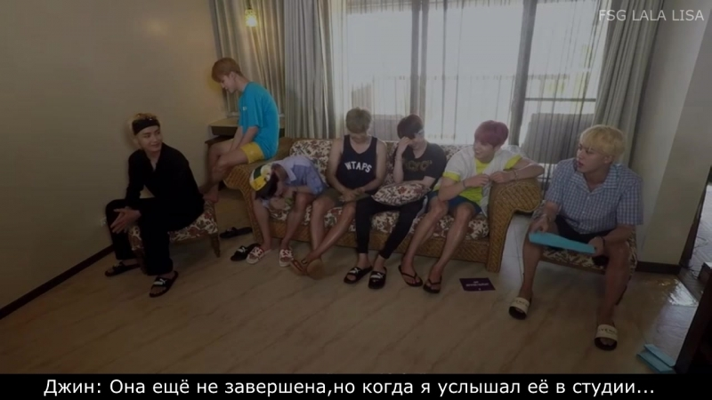 RUS SUB Рус саб BTS Summer Package 2018
