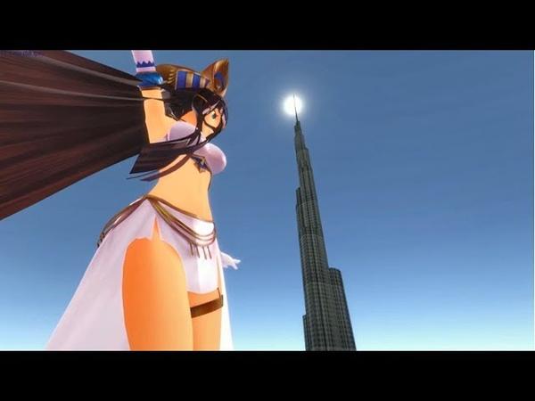 Towering Pharaoh Sizebox Giantess Growth