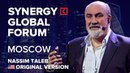 Nassim Nicholas Taleb Black Swan SYNERGY GLOBAL 2017 MOSCOW
