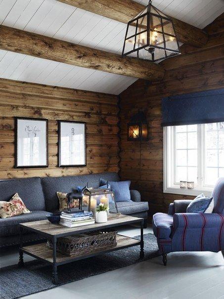 Деревянный домик в Норвегии