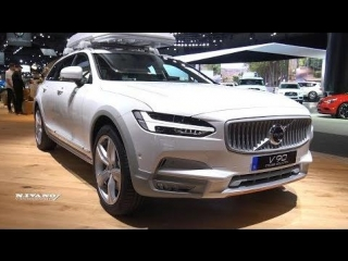 2018 Volvo V90 T6 Cross Country - Exterior And Interior Walkaround
