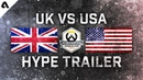 Team UK vs USA Overwatch World Cup 2018 Hype Trailer