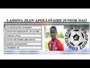 LASSINA JEAN APOLLINAIRE JUNIOR DAO●II Best Skills Goals II●FK GOMEL BELARUS