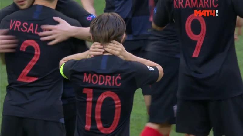 Англия - Хорватия - 2-1. Обзор матча. Тащилово Кейна