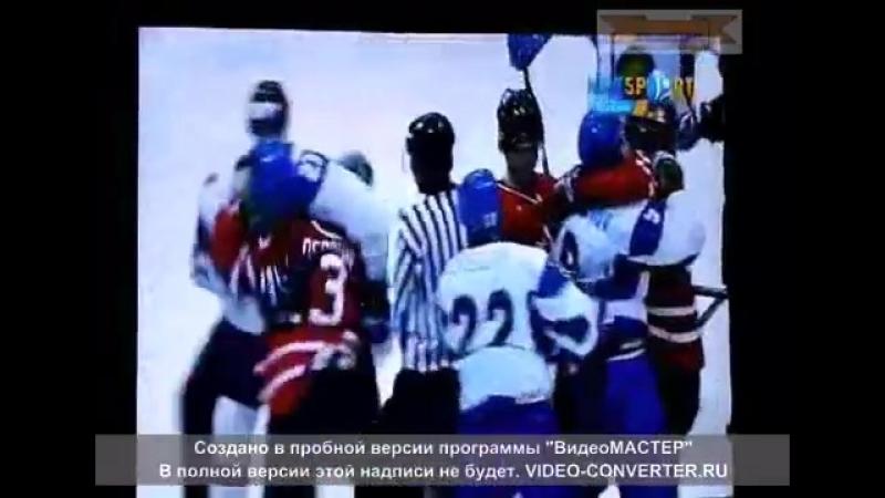 Казахстан-Канада. Хоккей , бокс и судейский беспредел