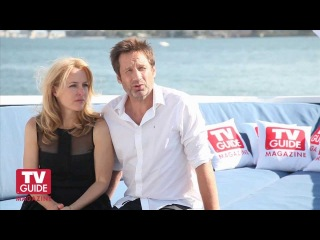 X-Files @ Comic-Con 2013! David Duchovny and Gillian Anderson!