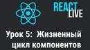 Курс React JS Live Урок 5 Жизненный цикл компонентов