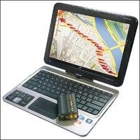 Подключается к бесплатному сервису gps-trace.com или к коммерческому платному gurtam.com/ru.
