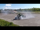 Barracuda buggy project with CBR1000Engine BURNOUT