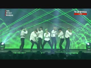 181128 bts - fake love + vcr + idol @ 2018 asia artist awards