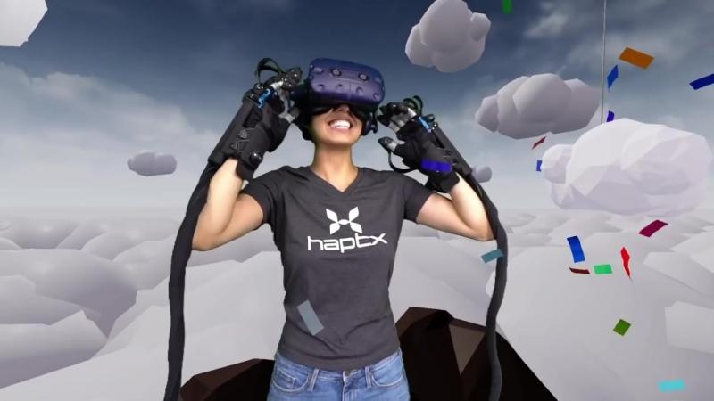 HaptX Gloves DK тактильные перчатки виртуальной реальности