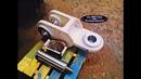 Construccion de una roldana o pasteca Construction of a pulley