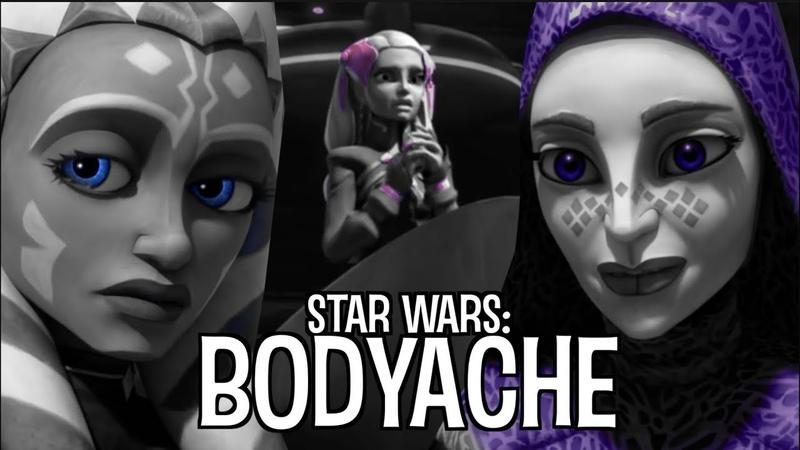 Bodyache Ahsoka Tano Riyo Chuchi and Barriss Offee The Clone Wars 1080p 60fps HD