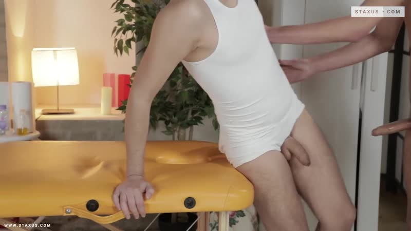 Massage Me 2, Sc.1: Ass-Hungry Bud Rips His Way Into Cute, Horny New Boy's Arse! HD