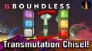 Transmutation Chisel Cavemans Forge Boundless v.197