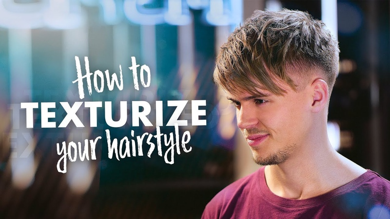 Men Textured Hair Tutorial | Mens Hair Inspiration | SlikhaarTV