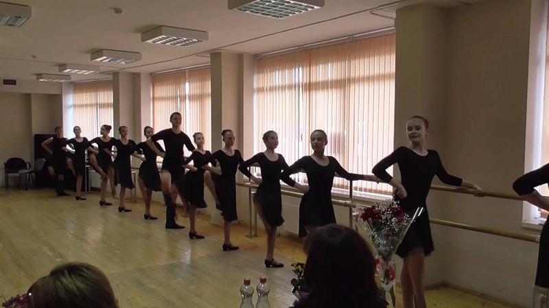 Экзамен по народному танцу часть 2 20 05 2015