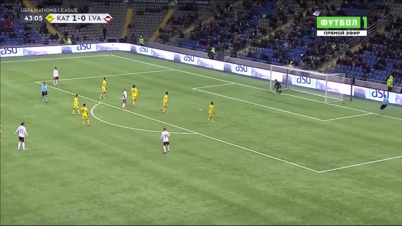 Казахстан - Латвия 2:1