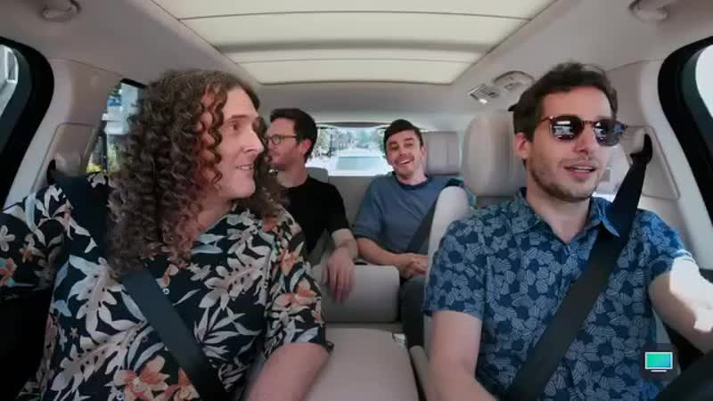 BLOOPERS: Carpool Karaoke Weird Al, The Lonely Island