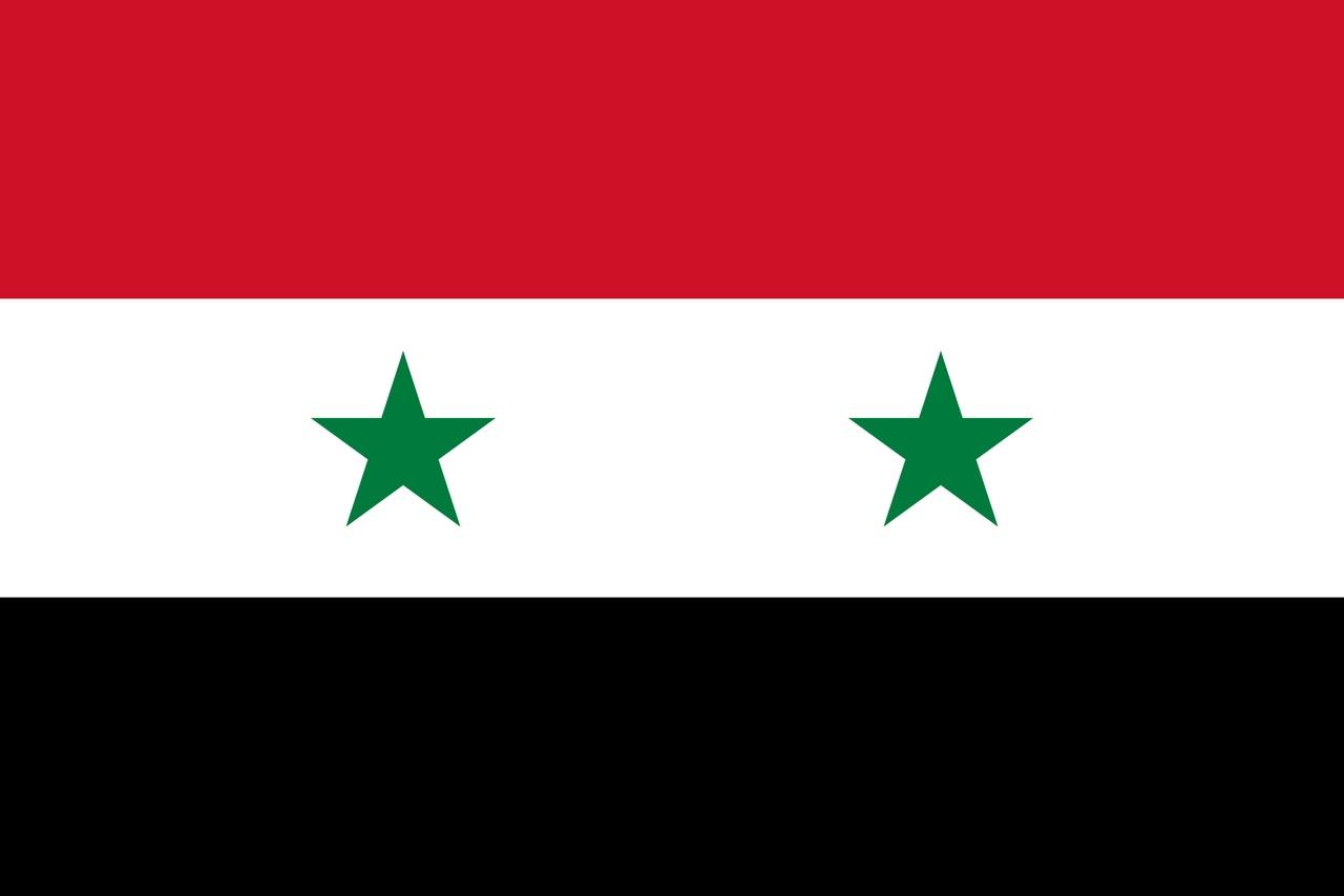 Флаг Сирия