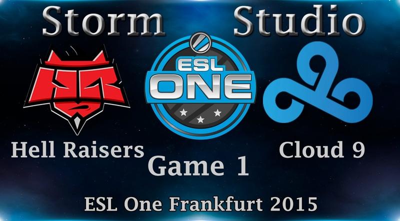 ESL One: Hell Raisers vs Cloud 9, 1 игра, 4.04.2015
