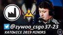 ZywOo 37-23 / Vitality vs Valiance - Mirage/ IEM Katowice 2019 - EU Minor