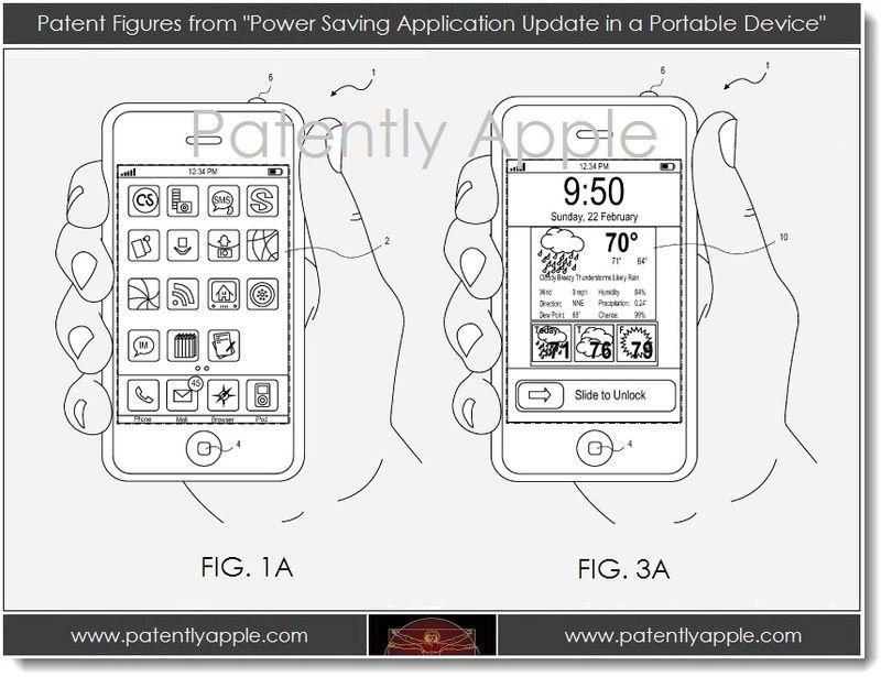 Apple запатентовала технологию энергосбережения для iOS