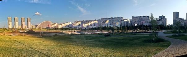 Панорама Ходынского поля.  12 июля 2018