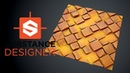 Substance Designer - Stylized Tiles with Sand
