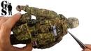 Сборка коллекционной фигурки бойца спецназа ФСБ группы Альфа DAM 78047 DAM Toys