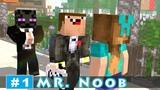MR. NOOB - EP1 CEO Noob Minecraft Animation