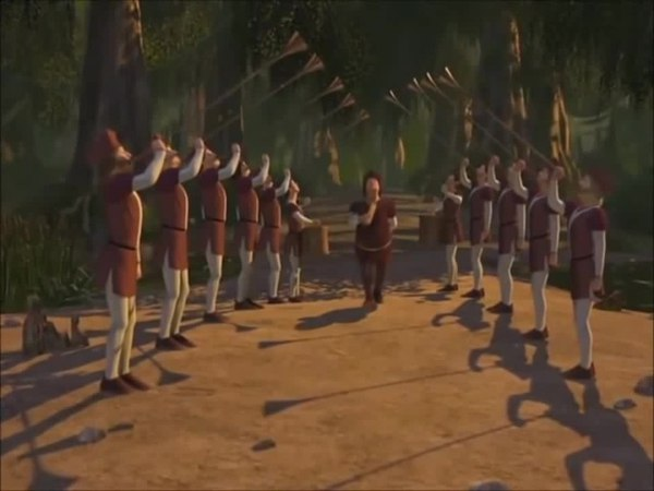 This may or may not be the Shrek 2 Reggie scene