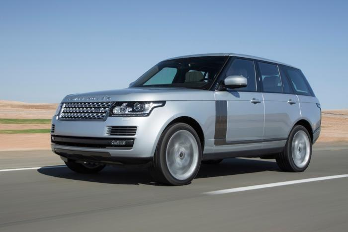 Дизельный Range Rover 2013