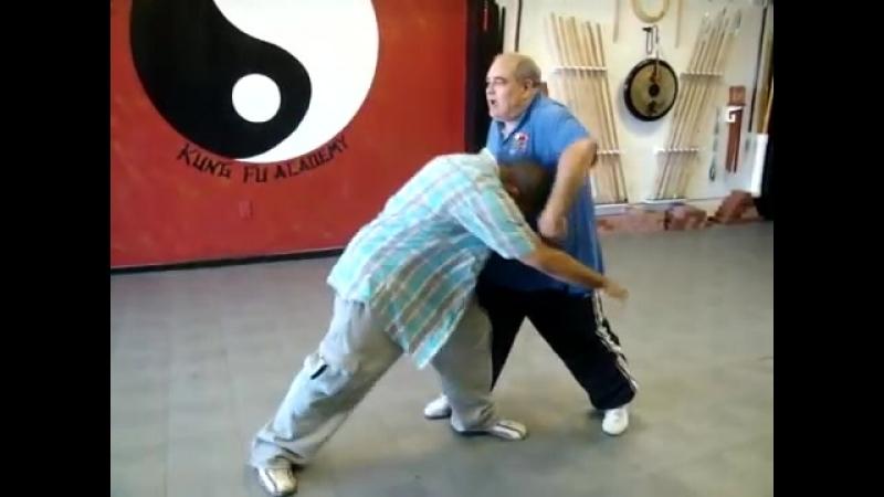 Kung Fu (Chin Na) Avoiding a Takedown (Bagua and Hua Quan Technique)