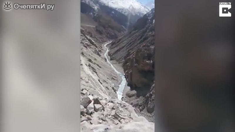 Горная дорога в Гималаях