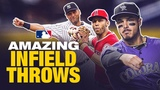 Jaw-Dropping Infield Throws
