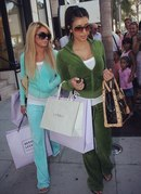 Celebrities In Tracksuits