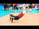 TOP » 50 Legendary Volleyball Saves (Digs). Volleyball Nations League 2018.
