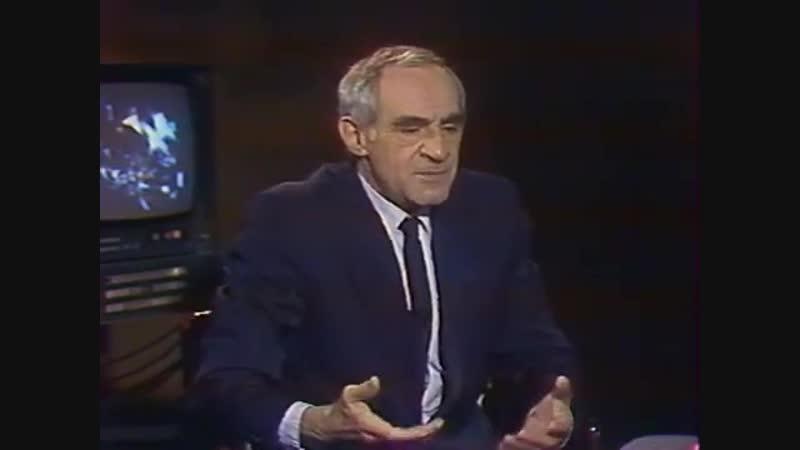 Как Всеволод Мейерхольд Зиновию Гердту подыграл. 1987 г