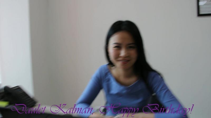 Happy Birthday, Kalman aga!