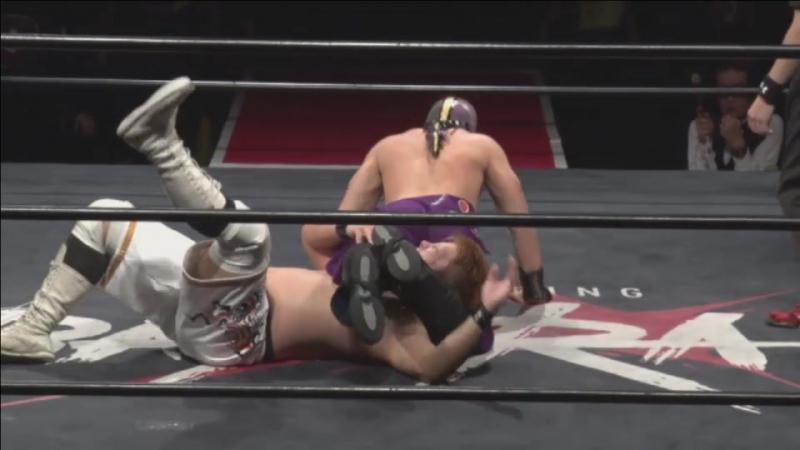 Daichi Kazato, Masamune vs. Takumi Tsukamoto, Yasu Urano (DDT BASARA 51 ~ Banquet ~)