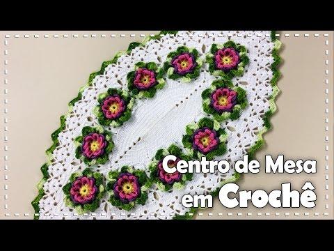 CENTRO DE MESA FLORIDO com Maria José Programa Arte Brasil 06 10 2016