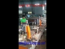 Automatic Double Head Glass Corner Grinding Polishing Machine with Automatic Width Adjustment