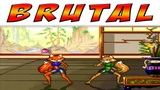 Brutal Paws of Fury - Foxy Roxy (Hardest Difficulty) SNES