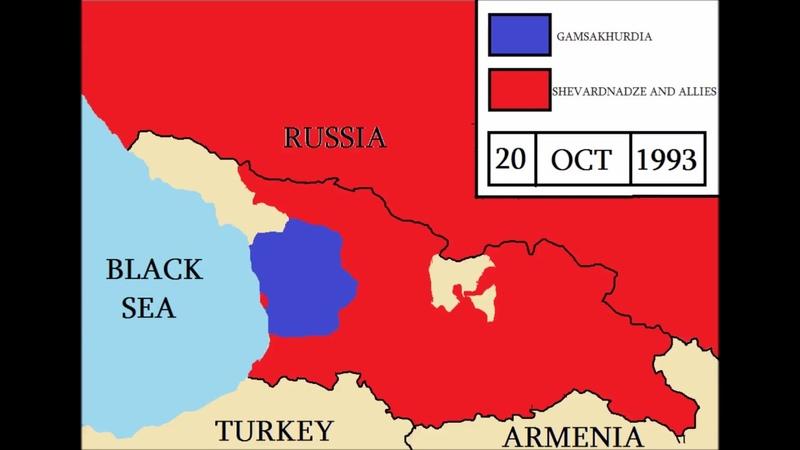 Georgian Civil War - every day | საქართველოს სამოქალაქო ომი - ყველა დღე